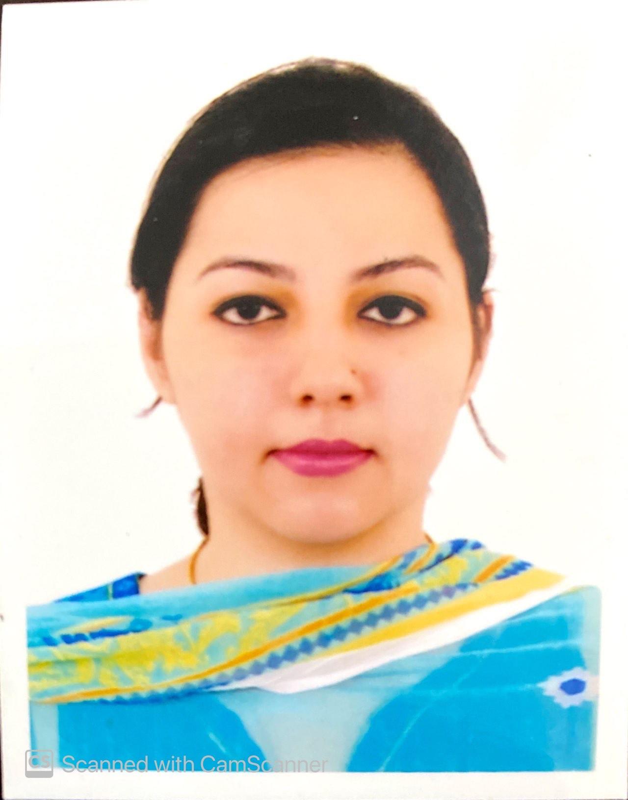 Ms. Benazir Ejaz